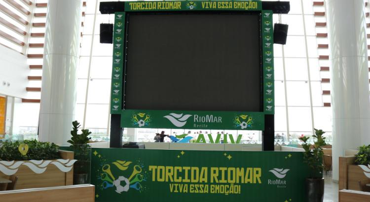 Venha assistir aos jogos mundiais no RioMar