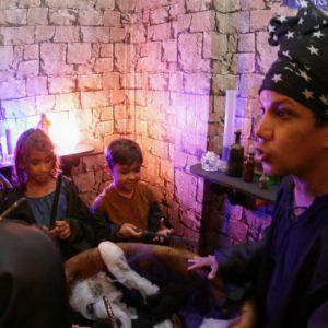 Crianças contam como é entrar no Castelo dos Magos