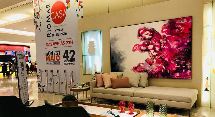 Artista plástico Daniel Cavalcanti expõe novas telas no RioMar Casa 2018