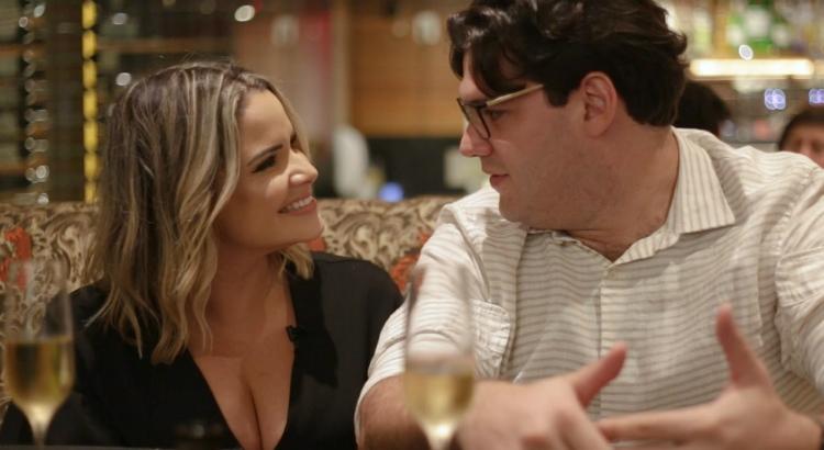 Namorados: um jantar romântico e a revelação da blogueira Cuca Amorim