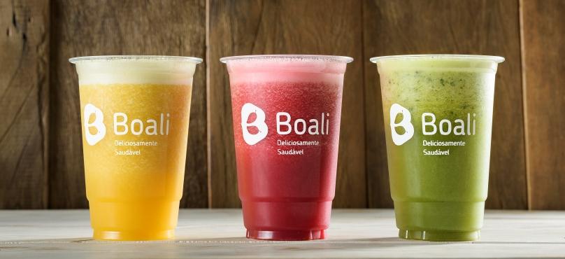 Sucos naturais são opções saudáveis disponíveis no RioMar