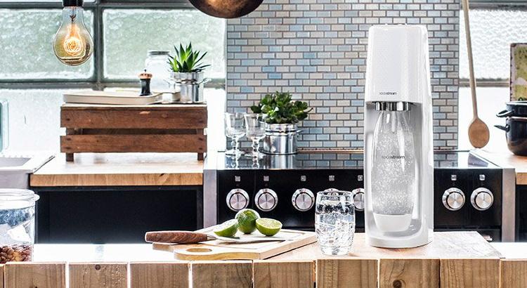 Spicy dispõe da exclusiva máquina de gaseificar água Fizzi