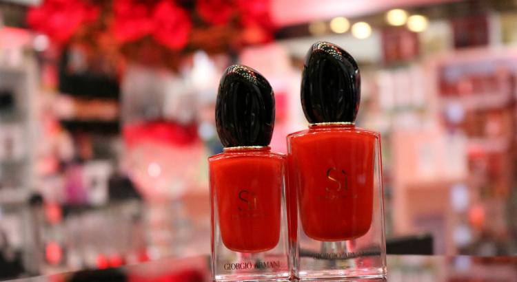 Sì Passione, nova fragrância da Armani, chega à American News