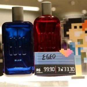 Para os namorados, O Boticário apresenta as fragrâncias Egeo Red e Egeo Blue