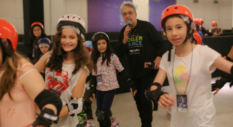Diversão para todas as idades no Roller Dance RioMar