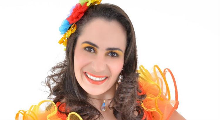 Ilana Ventura anima o Bailinho Infantil de São João do RioMar