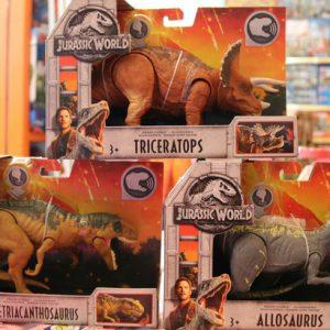 Além do cinema: dinossauros invadem as lojas de brinquedos