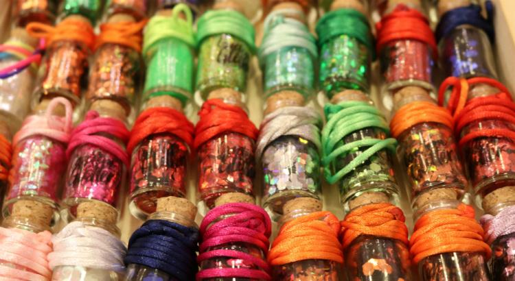 Glitter: bota mais que tá pouco