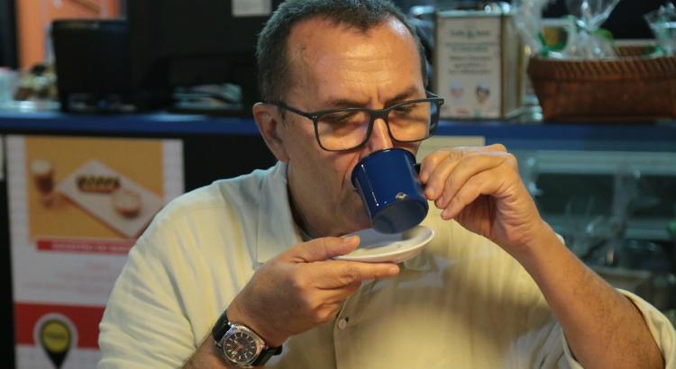 Romoaldo de Souza fala sobre uma de suas paixões: o café