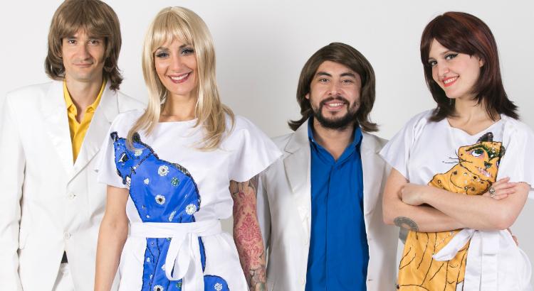 Espetáculo em homenagem à lendária banda ABBA