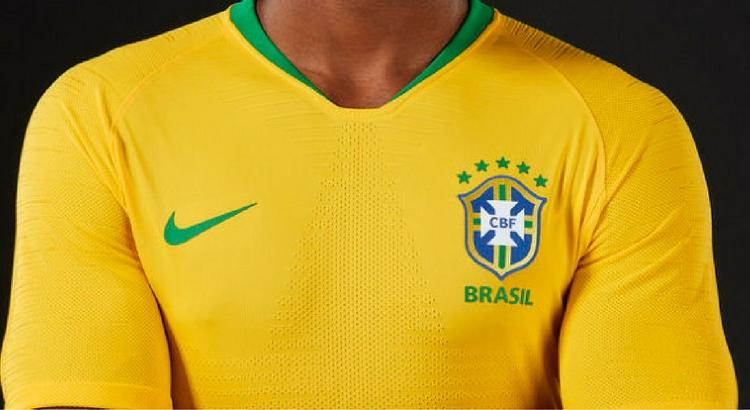 Nova camisa da seleção brasileira na Nike do RioMar Recife