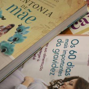 Cinco livros para presentear as mamães de primeira viagem