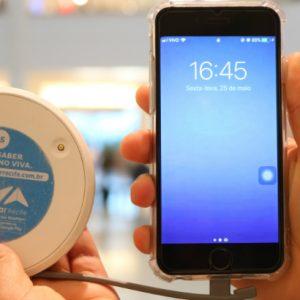RioMar disponibiliza carregadores portáteis de celular