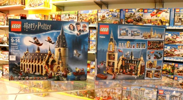 Nova linha Harry Potter conquista a Lego