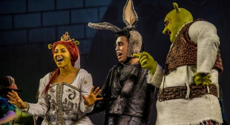 Shrek, o Musical em três apresentações no Teatro RioMar