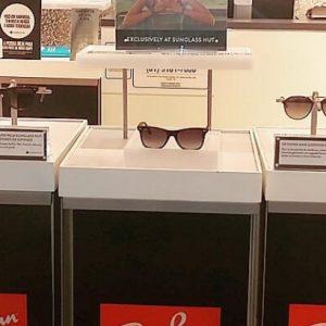 Óculos Ray-Ban marcam presença na Sunglass Hut