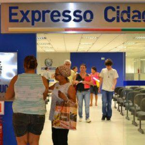 Expresso Cidadão encerra atividades uma hora mais cedo nesta sexta-feira