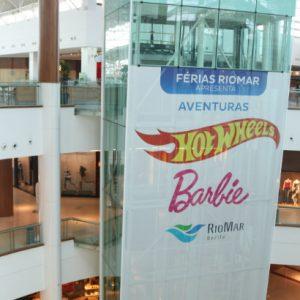 Temporada de Férias RioMar apresenta Aventuras Hot Wheels e Barbie