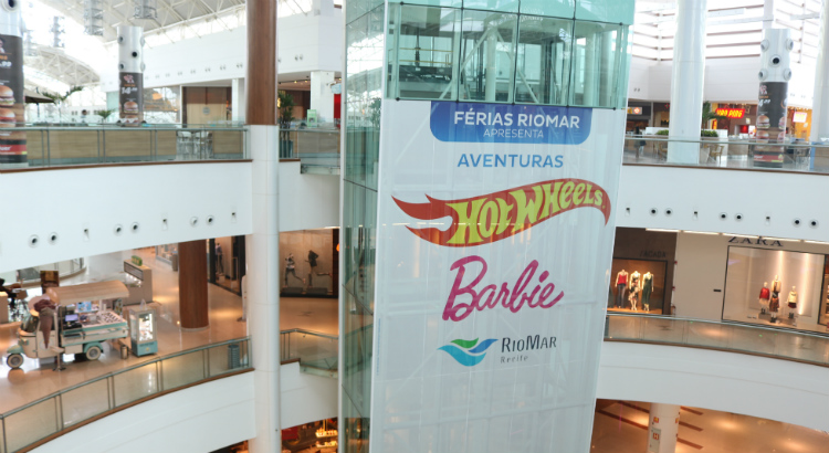 Temporada de Férias RioMar apresenta Aventuras Hot Wheels e Barbie
