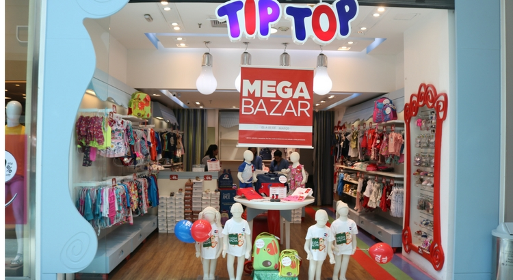 """Tip Top lança campanha """"Mega Bazar Tip Top"""""""