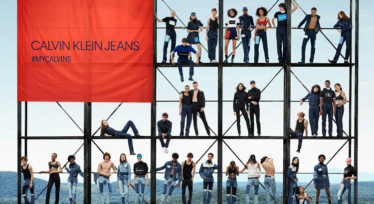 Irreverência pop dá vida à nova coleção verão da Calvin Klein Jeans