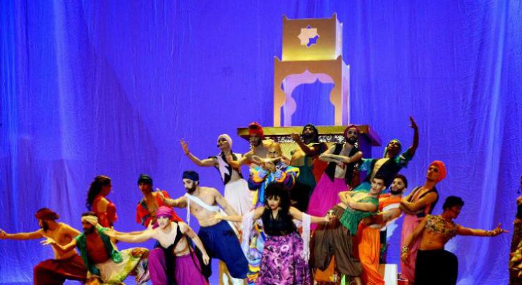Nova temporada de 'Aladim, o Musical ' no Teatro RioMar