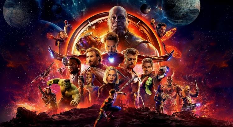 Vingadores: Guerra Infinita estreia no Cinemark