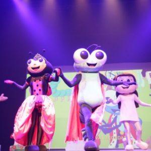 Bob Zoom abriu programação no mês das crianças do RioMar