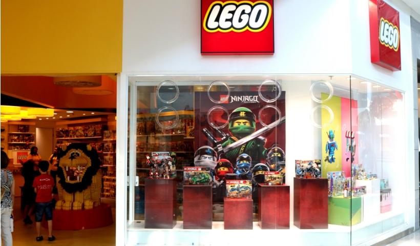 Lego convida a criançada para brincar de construir neste fim de semana