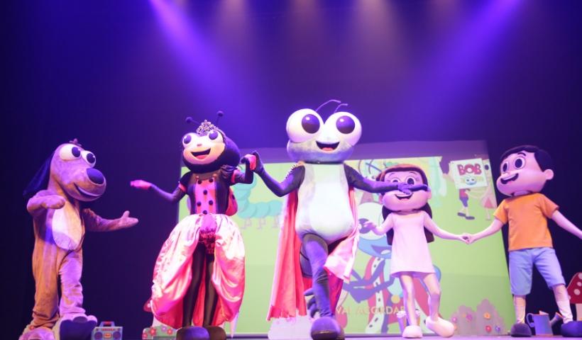 Bob Zoom abre o mês das crianças com muita animação no RioMar