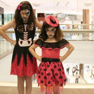 Fantasias infantis de Halloween no RioMar
