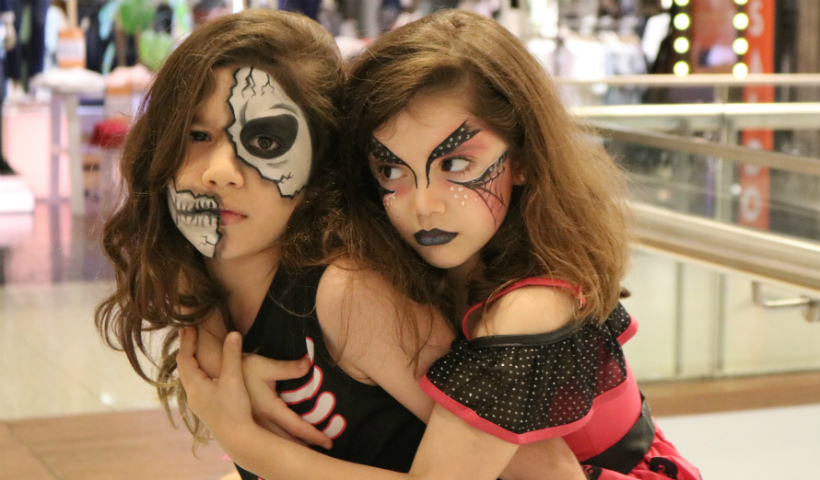 "Make infantil ""assustadora"" para o Halloween"