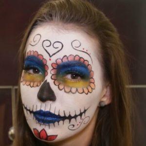Make: como se transformar na Catrina, caveira mexicana, neste Halloween