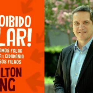"""Mílton Jung lança o livro """"É proibido calar!"""" na Saraiva"""