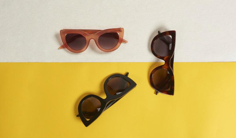 Óculos cheios de estilo na Via Mia