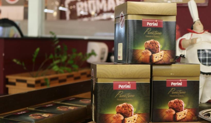 Panetone do Perini é artesanal e já está disponível