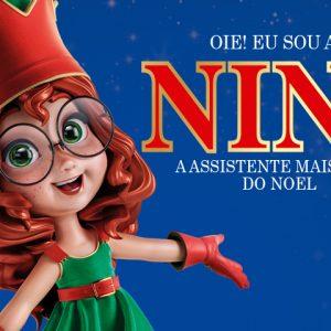 Um encontro especial com Nina, a ajudante do Papai Noel