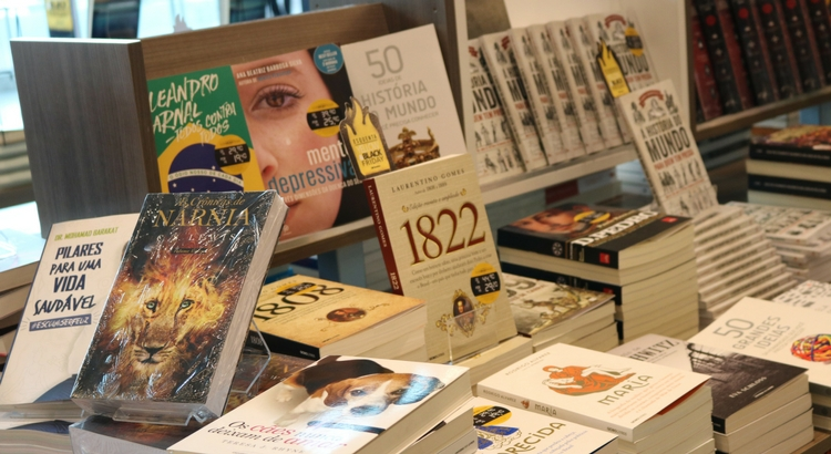 Livrarias do RioMar com bons descontos na Black Friday