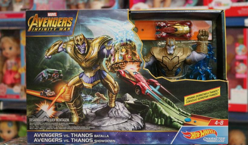 Brinquedos de 'Vingadores: Guerra Infinita' conquistam a criançada