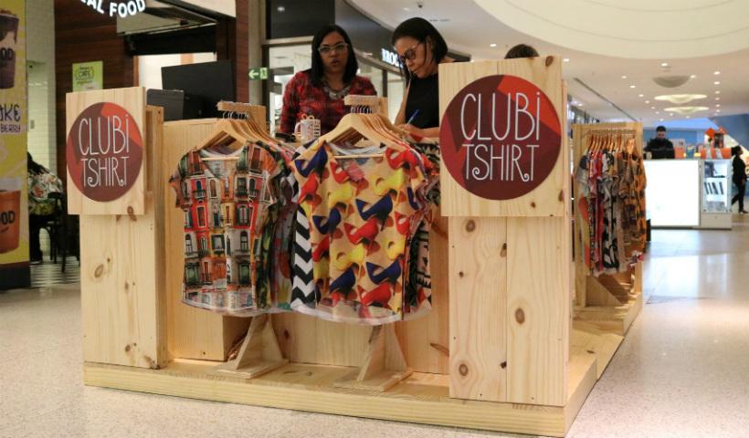 Clubitshirt inaugura cheia de estilo e estampas no RioMar