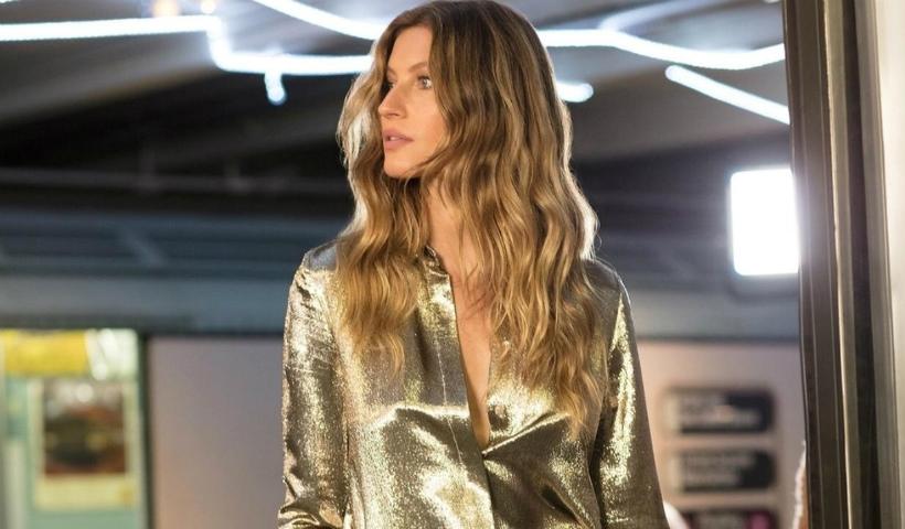 Gisele Bündchen e Rosa Chá: modelo estrela nova coleção