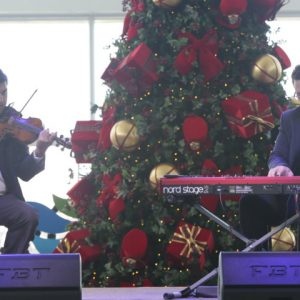 Natal Musical e Black Friday marcam a tarde no RioMar