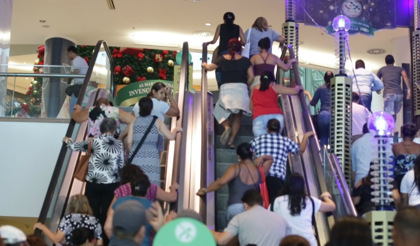 Vídeo: as primeiras horas da Black Friday no Riomar