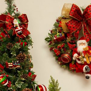 A origem das guirlandas de Natal