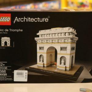 Linha Architecture, da Lego, traz história à brincadeira