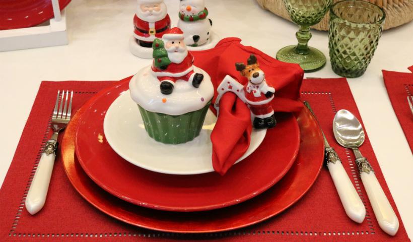 Inspirações para você montar sua mesa de Natal