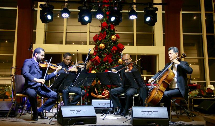Vários sons no Natal Musical do RioMar