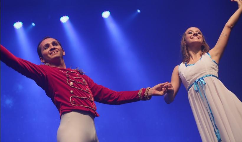 Balé O Quebra Nozes acontece neste domingo no Teatro RioMar