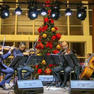 Música e balé no fim de semana do RioMar