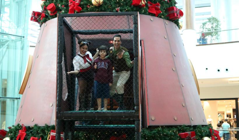 """""""Viagem Mágica Pela Árvore"""" diverte e encanta as crianças no Natal RioMar"""